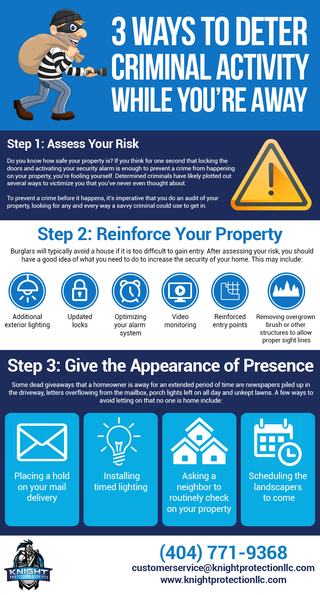 infographic-3-ways-deter-criminal-activity-knight-protection-services